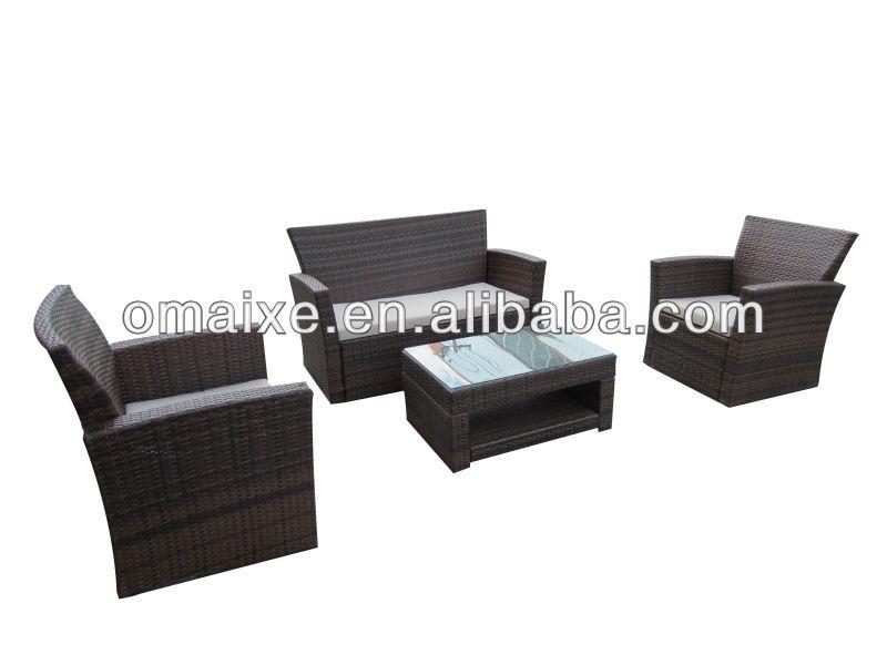Omaixe kd sofa tarrington house garden furniture oxab4009 for Sofa rattan jardin