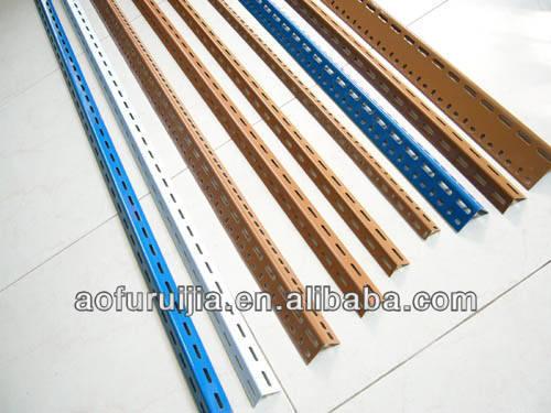 Versatile Slotted Angle/bar For Shelving - Buy Slotted Angle,Stainless  Steel Slotted Angle Shelving,Angle Iron Shelving Product on Alibaba com