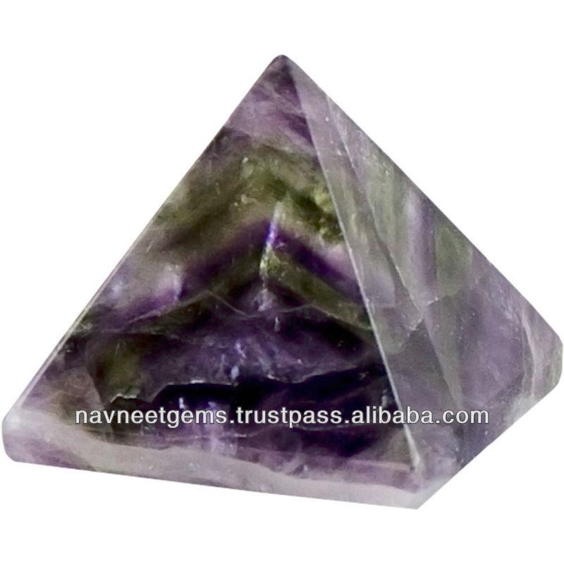 Natural Aaa Aqua Aura Gemstone Pyramids In All Sizes - Wholesale ...