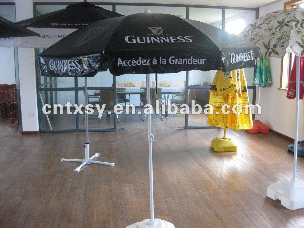 Marvelous Guinness Logo Print Vinyl Tarpaulin Pvc Waterproof Fabric Patio Outdoor  Umbrella