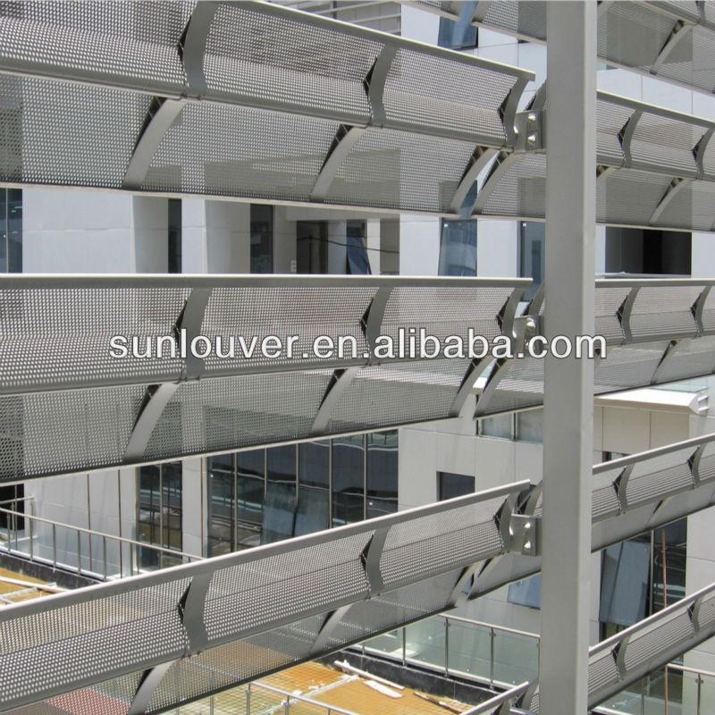 Metal Aluminum External Louver Shutter As Facade Buy