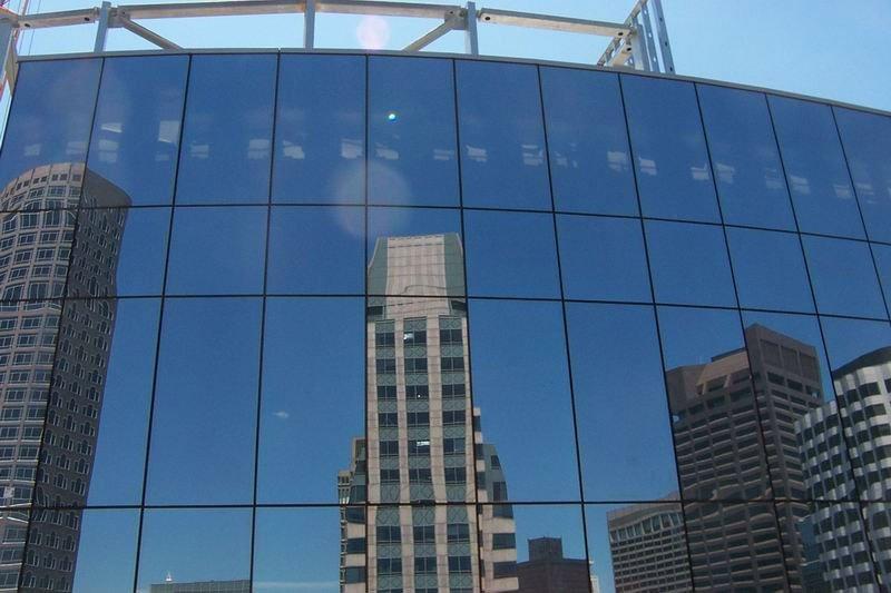 Curtain Wall Exterior : Glass curtain wall for building facade buy frameless