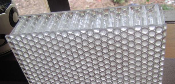 Polyurethane Honeycomb Panels : Polypropylene honeycomb core cell board plastic panel made