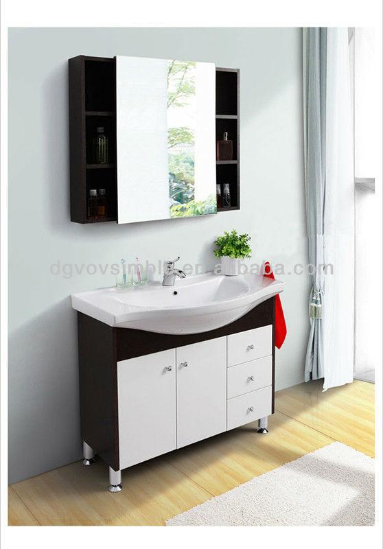 Neues design simble melamin spanplatten badezimmerschrank for Design badezimmerschrank