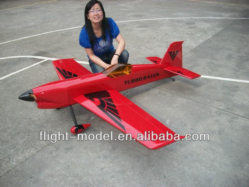 Gas Plane Turbo Raven 30cc 26 74 8 Quot F107 Remote Control