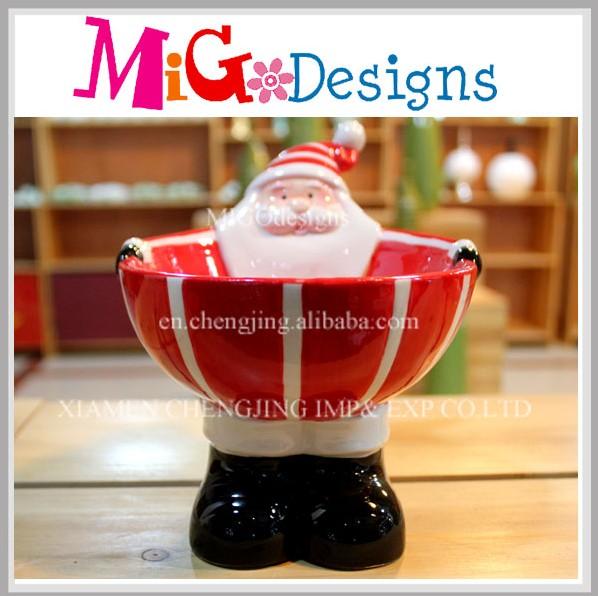 Tableware Santa Design Ceramic Christmas Bowl - Buy Ceramic ...