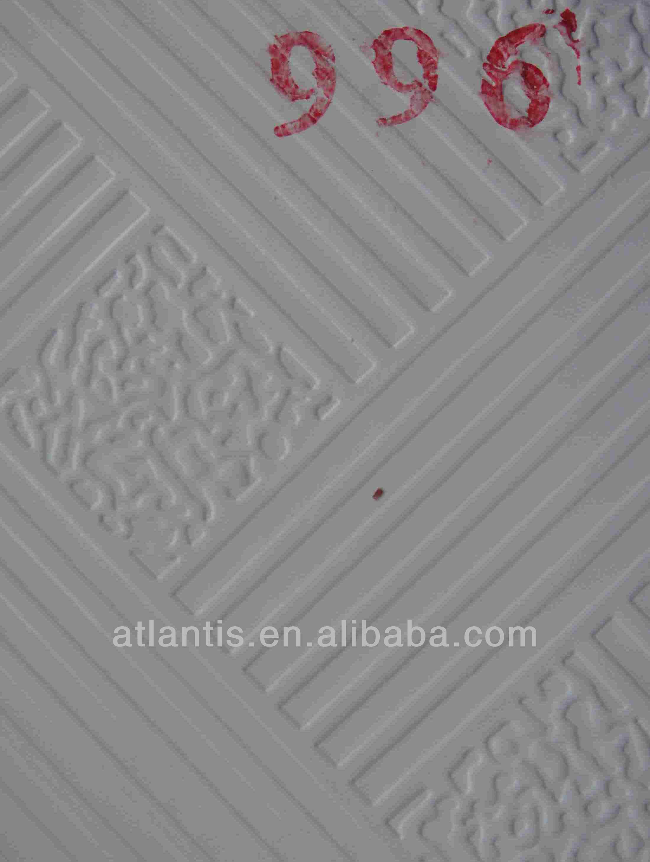 Pvc laminated acoustic gypsum ceiling tile view ceiling atlantis pvc laminated acoustic gypsum ceiling tile doublecrazyfo Gallery