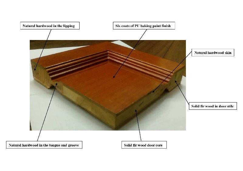Modern Solid Wood Door Dj S011 Buy Wood Door Door Solid