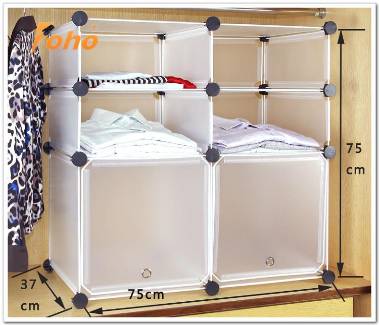 Casa di plastica di stoccaggio vestiti box scarpiera per armadio fh al01013 2 buy impiccagione - Armadi in plastica ikea ...