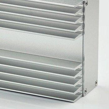 Extruded Aluminum Enclosures Heat Sink Cases View