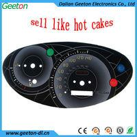 2d Light Transmission Auto Meter Gauge Digital Dashboard Supplier ...