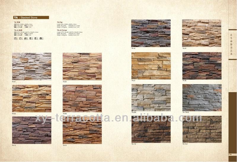 paredes en piedra finta para interior y exterior
