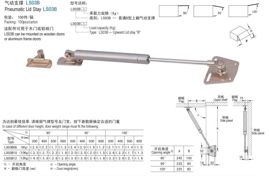 Pneumatic Door Opener And Support LS03B Sc 1 St Alibaba  sc 1 st  pezcame.com & Pneumatic Door Hinge \u0026 2018 100n/10kg Hydraulic Hinges Door Lift ...