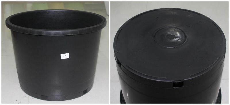 10 Gallon Black Nursery Flower Pot The Planter For Big