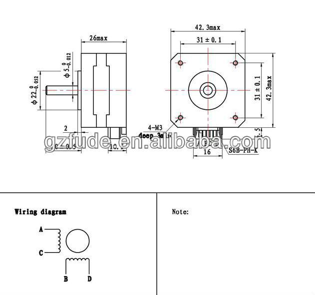 3 axis cnc nema17 casun stepper motor nema17 stepper motors 2 phase 42mm 3d printer motor 12v 0