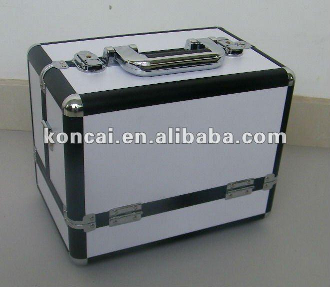 Multifunction Handbag Make Up Box With Aluminum Surface Finishing 15