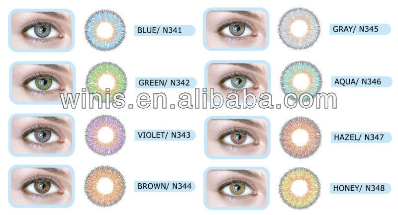 75c25b4309f85 Wholesale N34 Lentes De Contacto 3 Months 14.2mm Neo Contact Lens ...