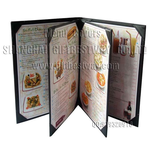 Menu Book DesignTable FolderFood Service Buy