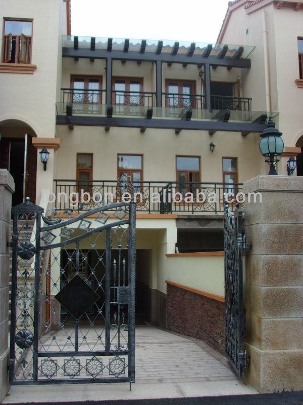 Top-selling Fancy Door Iron Gate Design Hot Galvanized
