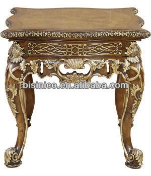 American Style Wood Livingroom Austen Lamp Table,American Hand Carved Wood  Furniture,antique Livingroom