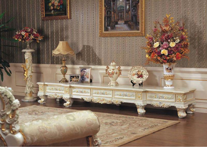 Baroque Style Furniture Italian Style Sofa Set Living Room Furniture Part 34