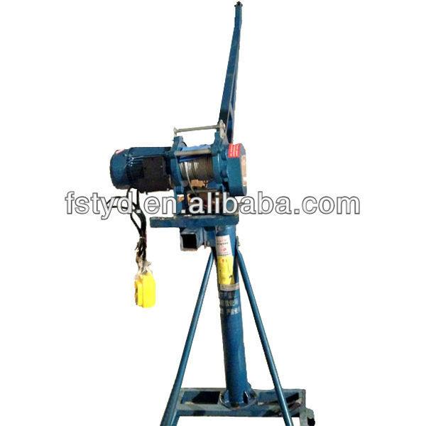 Mobile Crane Machine : Portable small truck lifting cranes mini lift crane