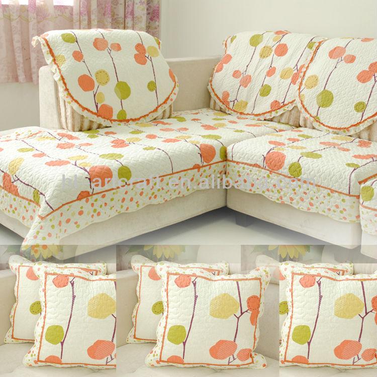 100 Cotton Indian L Shape Sofa Cover Buy L Shape Sofa