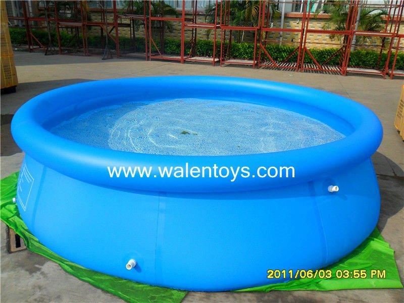 Piscina de plastico 5000 litros redonda for Piscina de 6000 litros