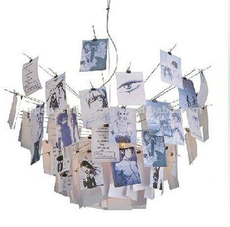 Modern Christmas Led Light Ingo Maurer Zettel Suspension Light ...