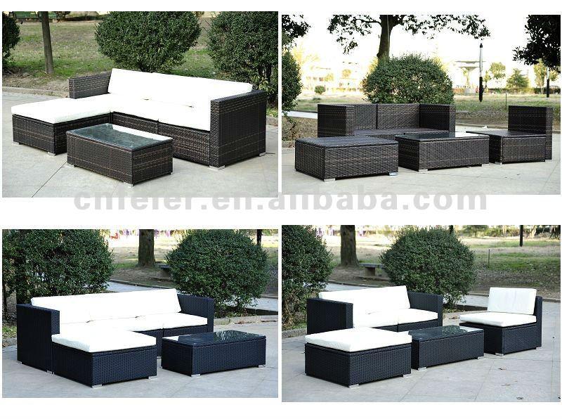 plastic rattan outdoor furniture with good design buy