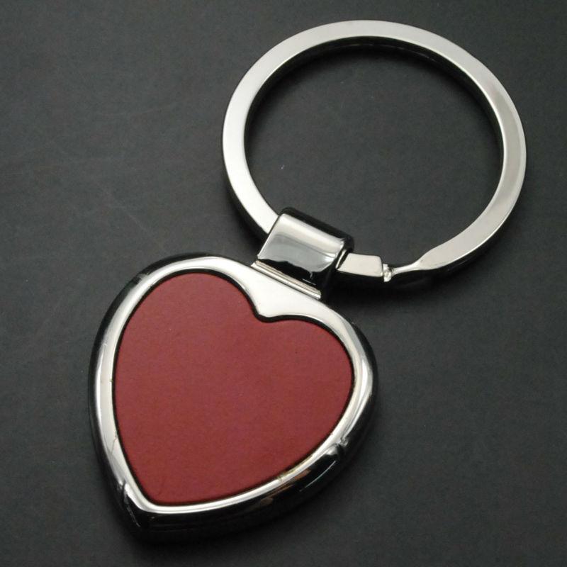 promotional simple key ring custom metal keychain j10013