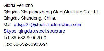 Low cost Pre fab steel warehouse
