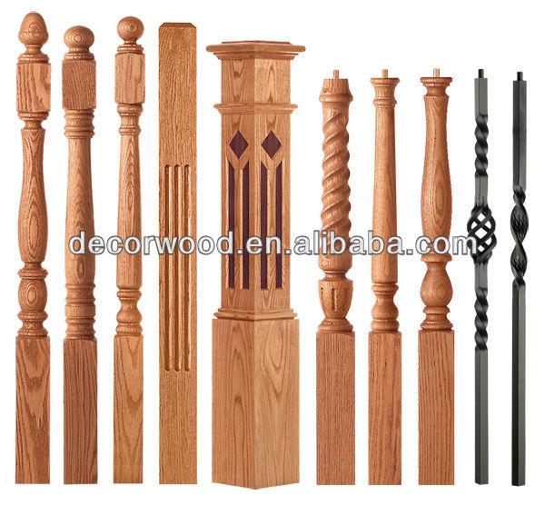 Solid wood stair newel posts buy
