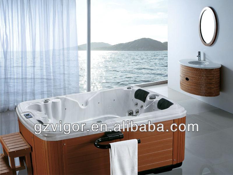 2 Person Whirlpool Massage Bathtub,Spa Whirlpool Portable Bathtub ...