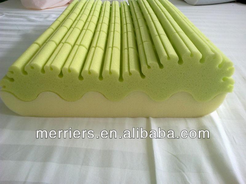 Vertical And Horizontal Cutting Green Tea Pillow