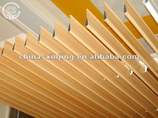madera tira de metal falso techogota de agua techo deflector producto patentado - Falsos Techos De Madera