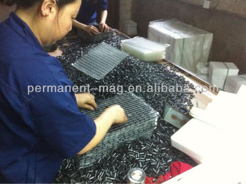 Ring Ferrite Magnet For Magnetic Motor / Magnetic Generator ...