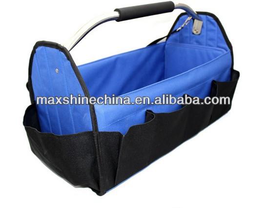Car Care Canvas Tool Bag Foldable Auto Detailing