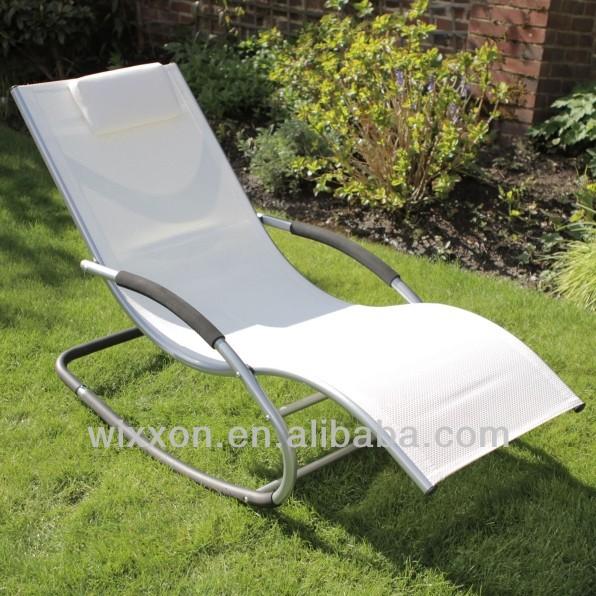 Sun Lounger Roking Chair Zero Gravity Rocking Lounger