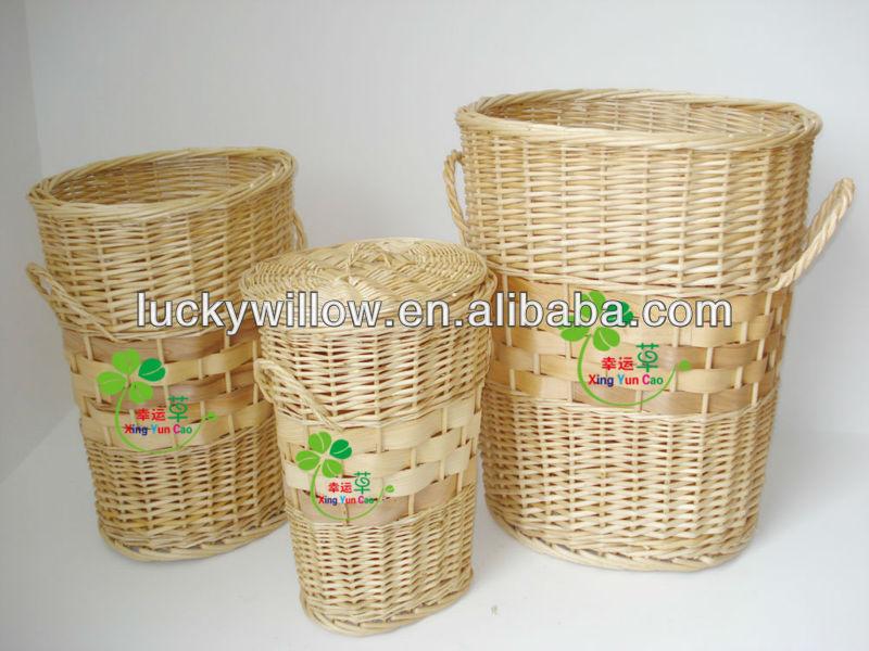 Beautiful Rattan Wicker Laundry Basket With Lids U0026 Large Storage Basket