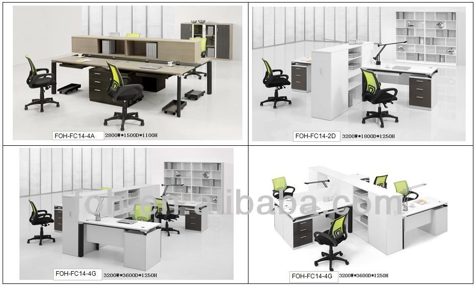 modern office partition. modern office partition design workstation pc desk functional furniture fohfc152s