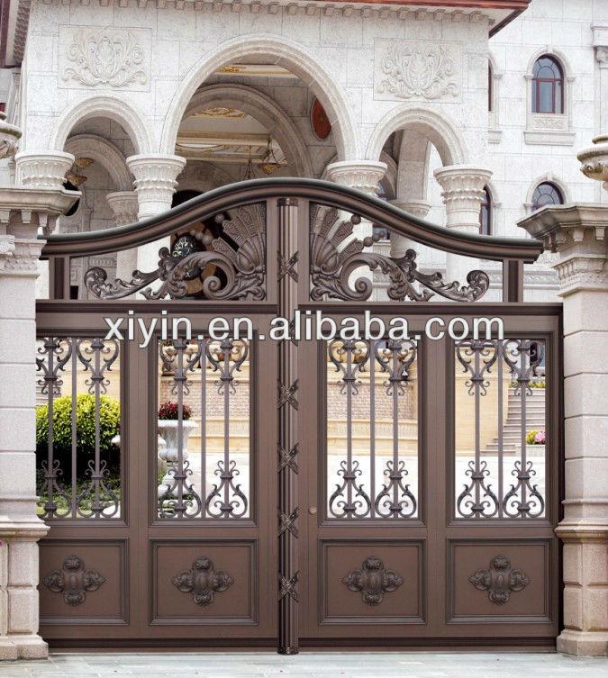 House gate designs aluminum garden gates buy aluminium for Best house gate designs