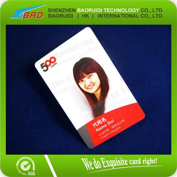 identity card design