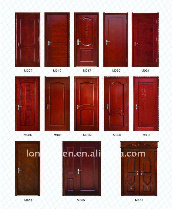 Wooden Single bedroom Door Designs M038, View bedroom door designs ...