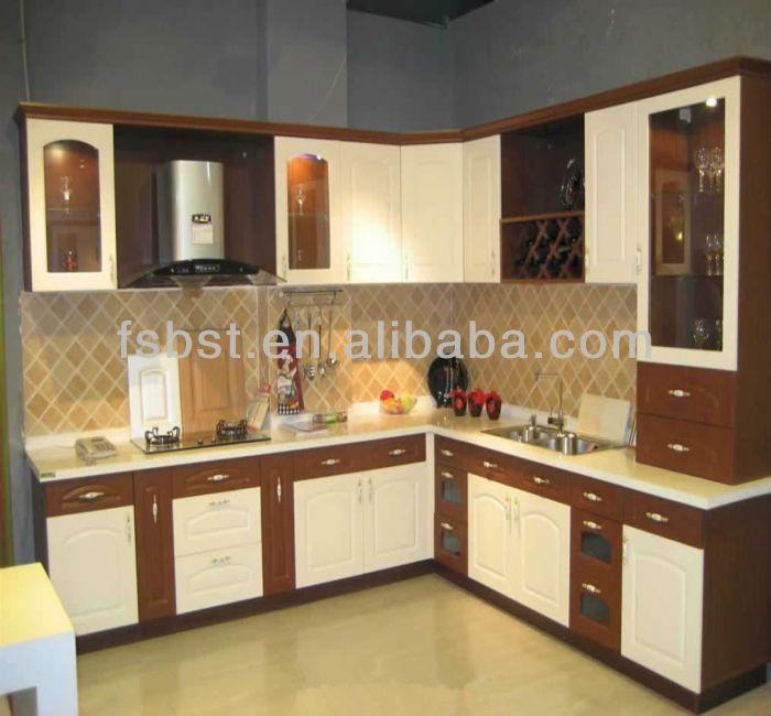 Kitchen Sunmica Colors: Ak451 Color Combination Modular Kitchen Cabinet Design