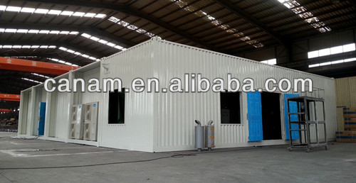 Single prefab portable container house