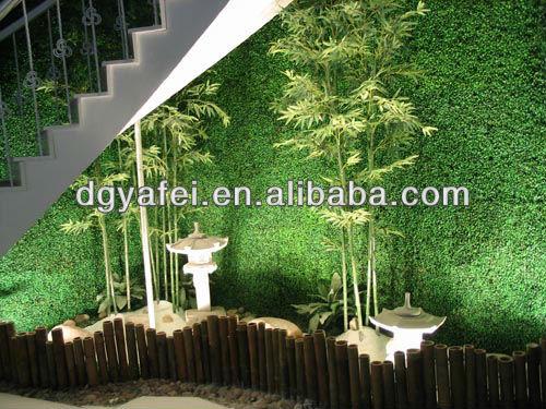 Decorative Plastic Indoor & Outdoor Artificial Fake Bamboo ...