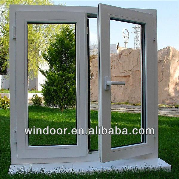 Interior/exterior Abrir Ventanas Y Puertas De Pvc Perfil La Faja De ...