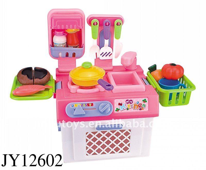 Mini Hot Pink Kitchen Little Toy