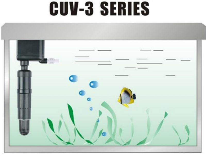 Sunsun Cuv-303 3w 50hz/60hz Aquarium Fish Uv Light